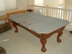 Proper pool table moving process in Boca Raton Florida